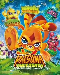 Moshi Monsters Katsuma Unleashed - plakat