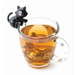 Zaparzaczka do herbaty czarna Cat MSC
