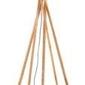 Goodmojo :: lampa podłogowa kilimanjaro bambus 129cm abażur 60x30cm, lniany zieleń lasu