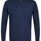 Elegancki granatowy sweter prufuomo originale z delikatnej wełny merynosów s