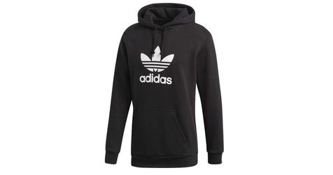 Adidas logo trefoil hoodie dt7964 s czarny