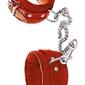 Czerwone kajdany na nogi
