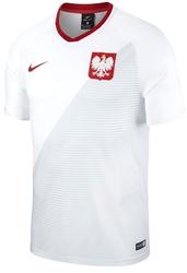 Koszulka nike polska 2018 893891-100 senior biała