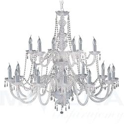 Hale lampa wisząca 18 chrom kryształ