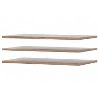 Zestaw półek do szafy livorno 105 cm dąb wotan