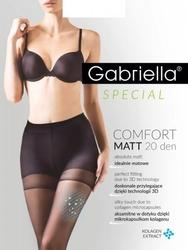 Rajstopy gabriella comfort matt 479 20 den 5-xl