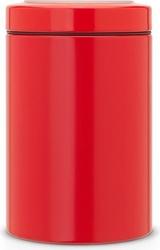 Pojemnik kuchenny brabantia 1,4 l czerwony z górnym okienkiem
