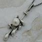 Evora - srebrny wisiorek z perłami