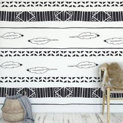 Tapeta na ścianę - feathers wave , rodzaj - tapeta flizelinowa laminowana