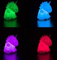 Lampka nocna unicorn jednorożec