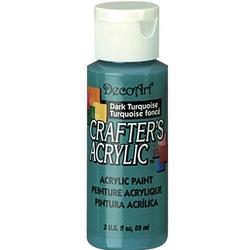 Farba akrylowa Crafters Acrylic 59 ml- turkusowy ciemny - TUC