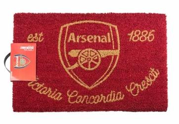 Arsenal Londyn FC Godło Klubu - wycieraczka piłkarska