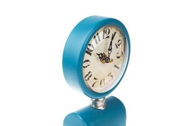 Zegar stołowy dystrybutor paliwa mix wzorówkolorów