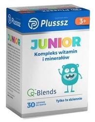 Plusssz junior x 30 tabletek do ssania