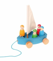 Jacht z 4 żeglarzami 0+, Grimms