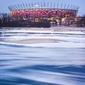 Warszawa śryżowy stadion narodowy - plakat premium wymiar do wyboru: 60x80 cm