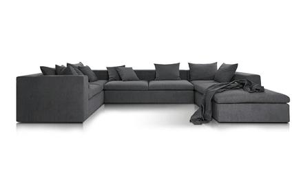 Sofa narożna nobonobo stone gr5 tkaninowa - 5