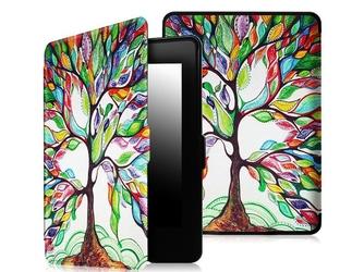 Etui alogy smart case do kindle paperwhite 123 kolorowe drzewko - kolorowe drzewko