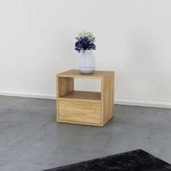 Loft decora :: regał modułowy drewniany drawer box szer. 45 cm