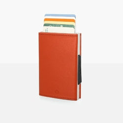 Portfel aluminiowy ogon designs cascade wallet orange rfid protect - cascade wallet - orange