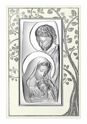 Obrazek BC6547P2XA Święta Rodzina 15,6 x 23,5 cm.