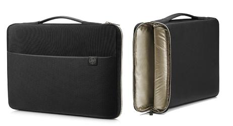 Torba na laptopa hp carry sleeve 15,6 czarnozłoty