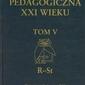 Encyklopedia pedagogiczna xxi wieku. tom v - praca zbiorowa