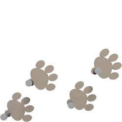 Wieszaki ścienne Cat Footprint CalleaDesign gołębi 53-13-2-13