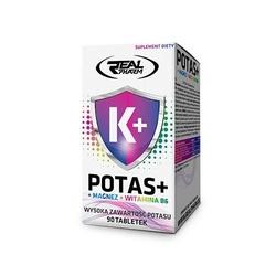 Real pharm potas + magnez + b6 90 tabs