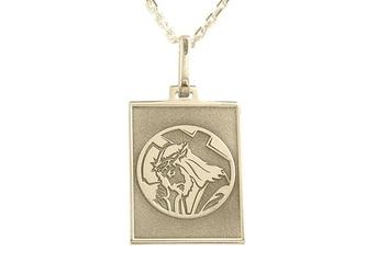 Medalik z żółtego złota med-6-2