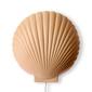 Hkliving lampa ścienna ceramiczna muszla terra vol5071