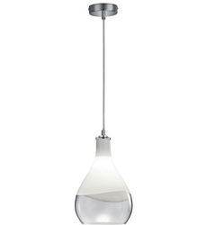 Wisząca lampa szklana w kształcie łezki kingston 20