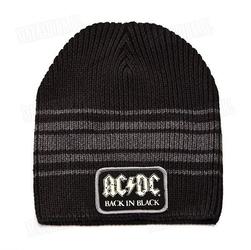Czapka rockoff - acdc grey