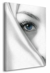 Tajemniczy błękit - Obraz na płótnie