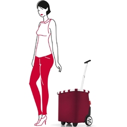 Wózek na zakupy reisenthel carrycruiser dark ruby roe3035