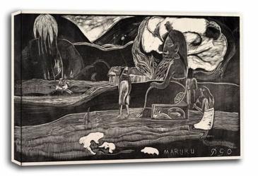 Maruru, paul gauguin - obraz na płótnie