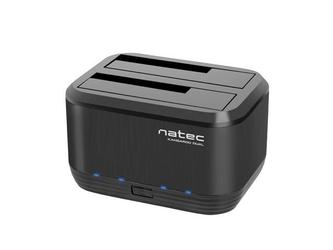 NATEC Stacja dokująca HDDKangaroo Dual SATA 2.5+3.5 USB 3.0 + zasilacz