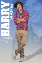 One direction harry 2012 - plakat