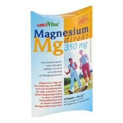 Magnesium direkt 350 mg magnez w saszetkach