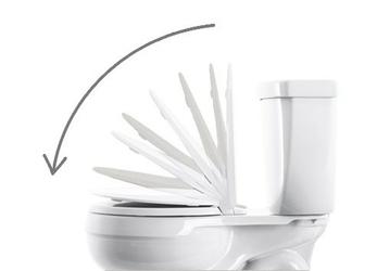 Miska wc nova wisząca biała z deską