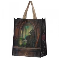 Kot i absyntowa wróżka - torebka zakupowa