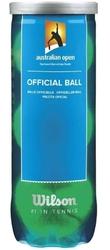 Piłki tenis ziemny wilson australian open 3 sztuki 104800