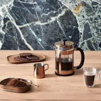 Zaparzacz do kawy, mlecznik, miarka french press vicenza leopold vienna lv113014