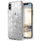 Etui ringke air prism apple iphone xxs clear + szkło alogy - przezroczysty