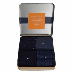 Zestaw 4 par skarpet Gift Box Tommy Hilfiger - 392003001 322
