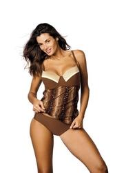 Tankini kostium kąpielowy marko amelia brown m-409 3