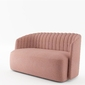 Sofa 2 osobowa laroc 1gr tkaninowa - gr1