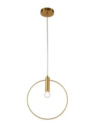 Lampa wisząca erie 285mm złoty