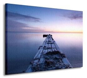 Pomost nad wodą - obraz na płótnie