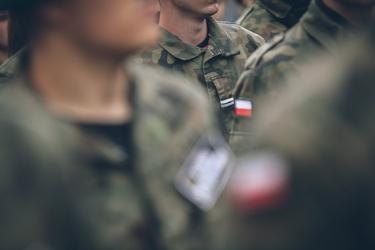 Fototapeta na ścianę polscy żołnierze fp 5670